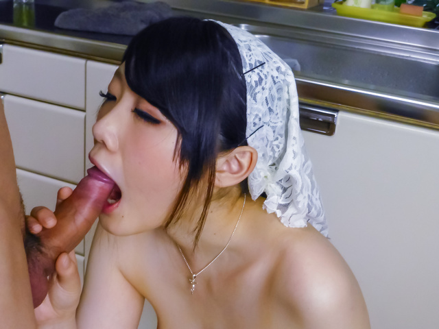 Rie Tachikawa - Japan blowjob along busty babeRie Tachikawa - Picture 9