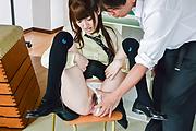 Karin Aizawa - 女子校生愛沢かりん~教室生ハメ~ - Picture 10