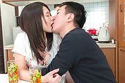 Sanae Akino - 兄貴に隠れてフェラ ~ 秋野早苗 - Picture 8