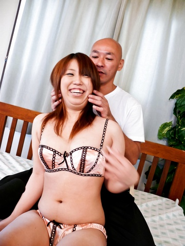 Ai Ootomo - Ai Ootomo with brown nipples rides dong - Picture 7
