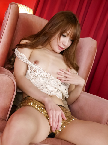 Ayaka Fujikita - Teen hottie Ayaka Fujikita fucks herself with an asian vibrator - Picture 10