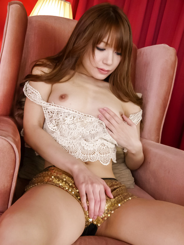 Ayaka Fujikita - Teen hottie Ayaka Fujikita fucks herself with an asian vibrator - Picture 12