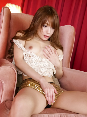 Ayaka Fujikita - Teen hottie Ayaka Fujikita fucks herself with an asian vibrator - Picture 9