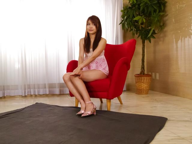 Megumi Shino - Hottie Megumi Shino gives an asian blowjob and fucked hard - Picture 6