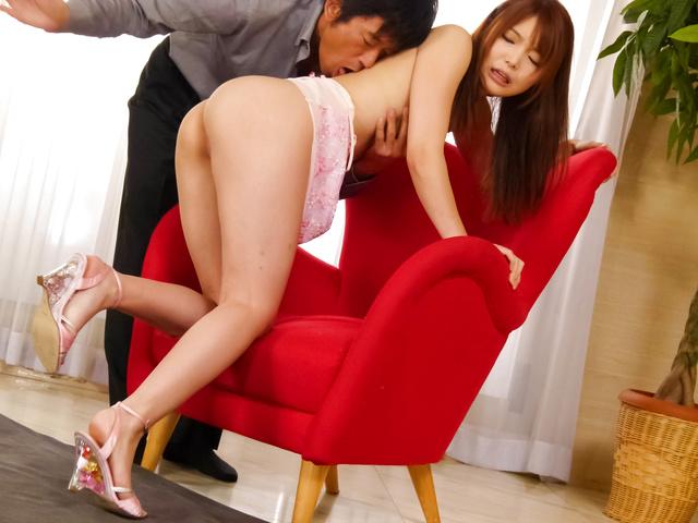 Megumi Shino - Hottie Megumi Shino gives an asian blowjob and fucked hard - Picture 9