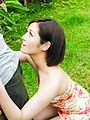 Minami Asano - Outdoor Asian blow job withMinami Asano - Picture 7