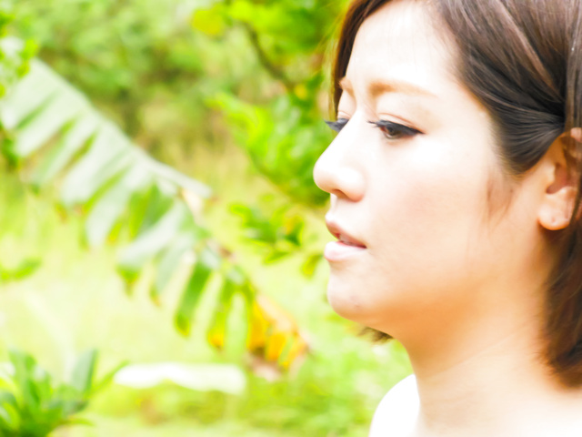 Minami Asano - 南野的室外亚洲打击工作 - 图片 3