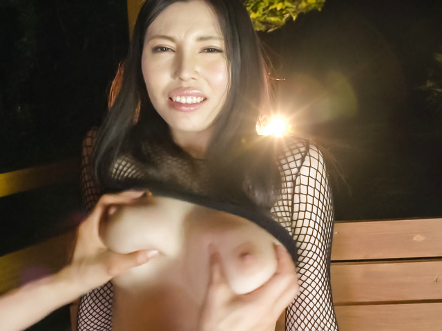 Sofia Takigawa - Big tits beauty enjoys Asian vibrator on pussy - Picture 12