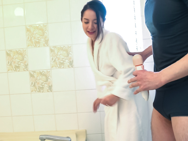 Anna Mihashi - Arousing wife makes magic with her Asian blowjob - Picture 11