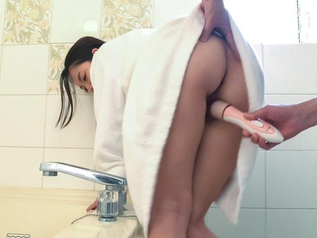 Anna Mihashi - Arousing wife makes magic with her Asian blowjob - Picture 9