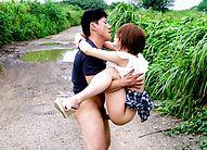 Outdoor creampie Asian fuck scenes withMao Mizusawa