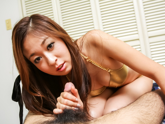 Risa Misaki - Cock sucking Asian girl craves to swallow  - Picture 9