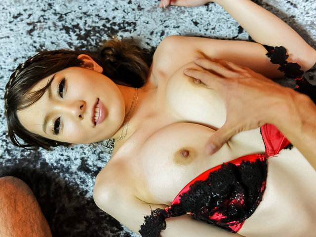 Yui Hatano - Yui Hatano gives Asian blow job before hardcore sex - Picture 3
