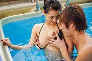 Maria Ozawa - Maria Ozawa blows a strong dick before sex - Picture 6