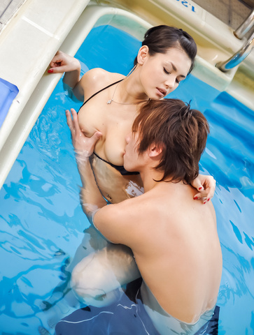 Maria Ozawa - 小泽玛利亚吹在性交前坚强的迪克 - 图片 7