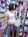 Ran Minami - Japanese Ran Minami fucked hard in a library - Picture 2