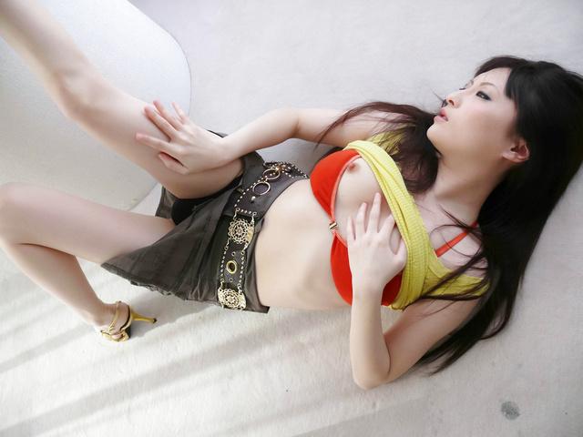 Rika Sonohara - Rika Sonohara Japanese gets hard penis - Picture 4