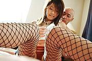 Arisa Aoyama - 性感阿里沙青山拉扯她迷你短裙关闭和乱搞 - 图片 11