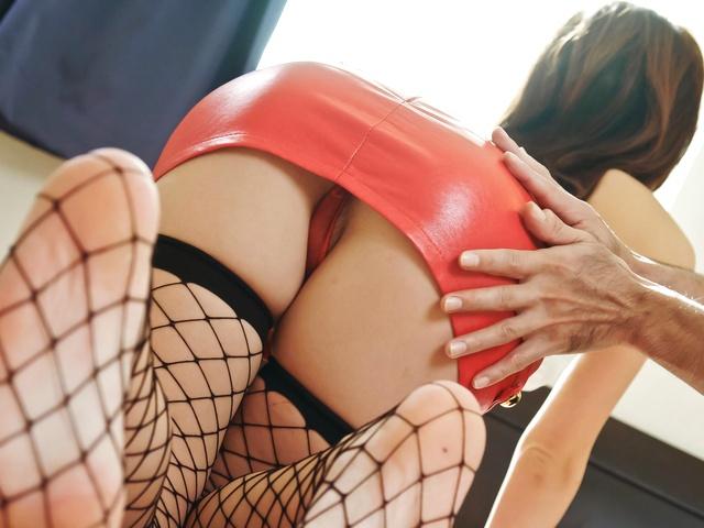 Arisa Aoyama - Sexy Arisa Aoyama Pulls Her Mini Skirt off and Fucks - Picture 6