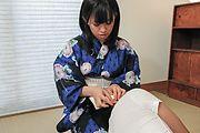 Yui Kyouno - 耳かき屋の特別フェラプレイ 京野結衣 - Picture 1