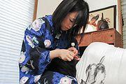 Yui Kyouno - 耳かき屋の特別フェラプレイ 京野結衣 - Picture 2