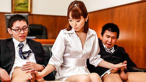 Japan blowjob at theoffice alongNonoka Kaede