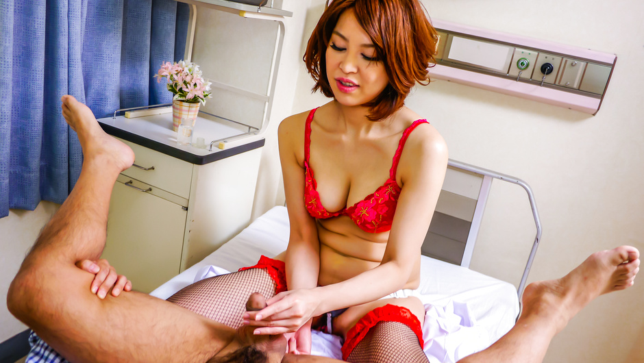 Phim Sex Japanese anal dildo makes Erika Nishino to go nasty