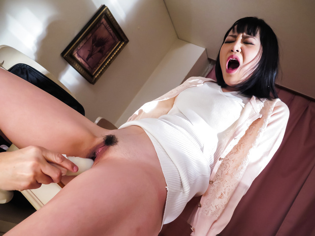 Nozomi Yui - Asian anal porn along horny housewife in sexy pantyhise - Picture 11