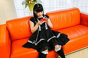 An Koshi - Japanese vibrator sex with brunette Japanese doll - Picture 3