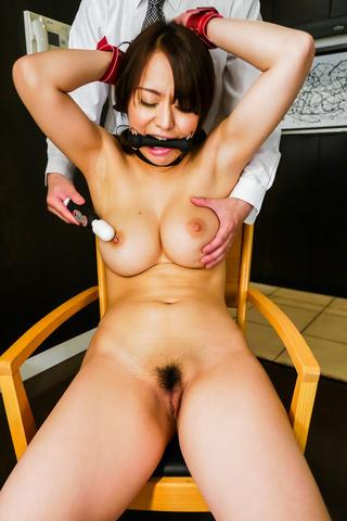 Kaede Niiyama - 热日本奴役沿丰满枫 Niiyama - 图片 6