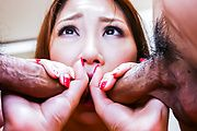 Airi Mizusawa - Airi Mizusawa enjoys Japan blowjob on cam  - Picture 5