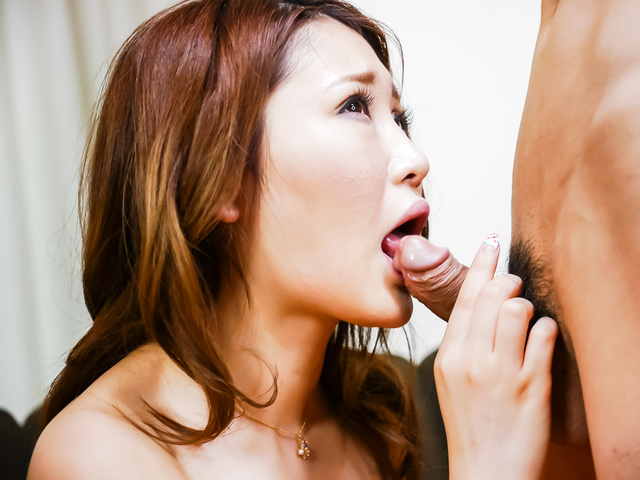Airi Mizusawa - Airi Mizusawa enjoys Japan blowjob on cam  - Picture 7