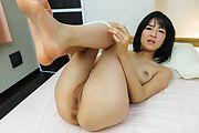 Ruri Okino - 在热的POV 铁杆展示完美亚洲口交 - 图片 6