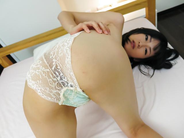 Ruri Okino - Perfect Asian blowjob during hot POV hardcore show - Picture 2