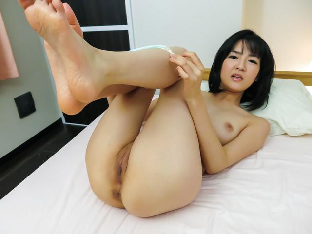 Ruri Okino - Perfect Asian blowjob during hot POV hardcore show - Picture 6