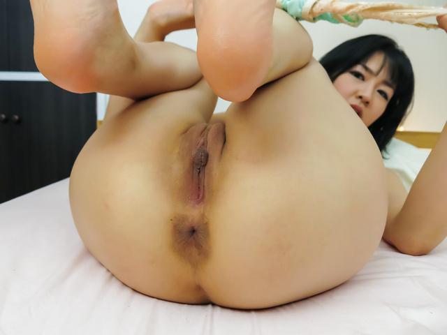 Ruri Okino - Perfect Asian blowjob during hot POV hardcore show - Picture 7