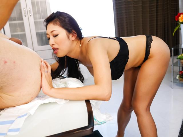 top asian blow job along superb reiko kobayakawa