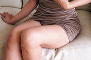 Kotone Kuroki - 好色巨乳妻~フェラ&ぶっかけレッスン - Picture 4