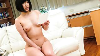 Asian cum in mouth for insolent Maki Koizumi