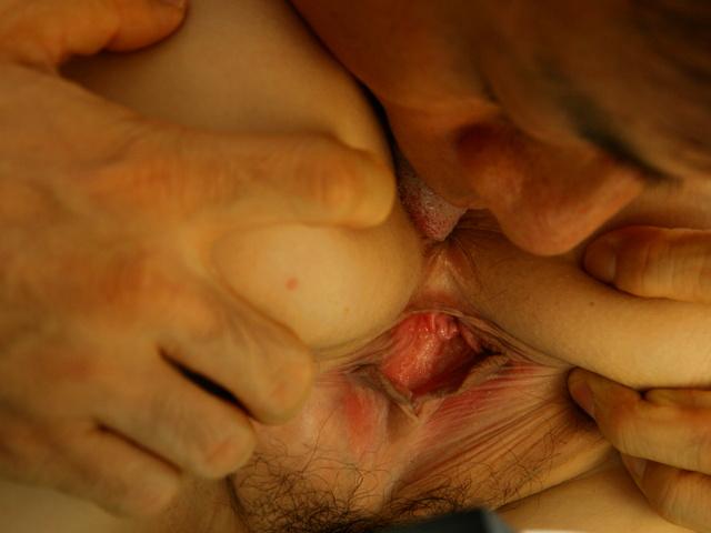 Chris Erika - Erika Kurisu gets pounded hard after a hot 69 - Picture 1