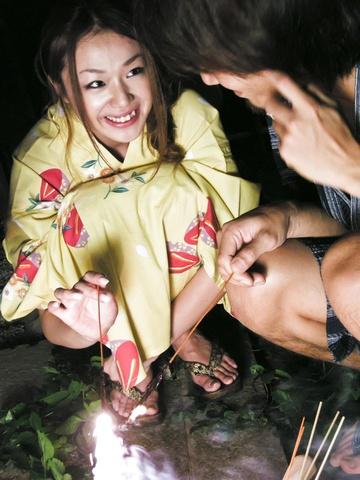 広田さくら - 抜群極上ボディと浴衣でセックス - Picture 3