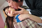 Runa Ayase - Young Runa Ayase in perfect Asian blow job event  - Picture 11