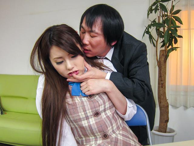 綾瀬ルナ - 女秘書イメクラプレイ~フェラ&中出し! - Picture 10