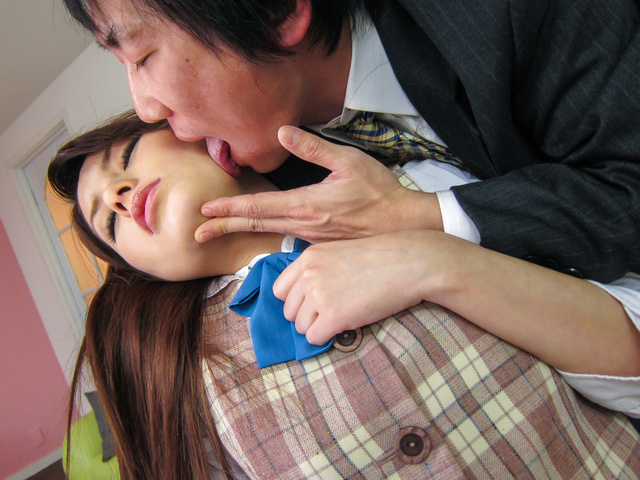 Runa Ayase - YoungRuna Ayase in perfect Asian blow job event - Picture 11