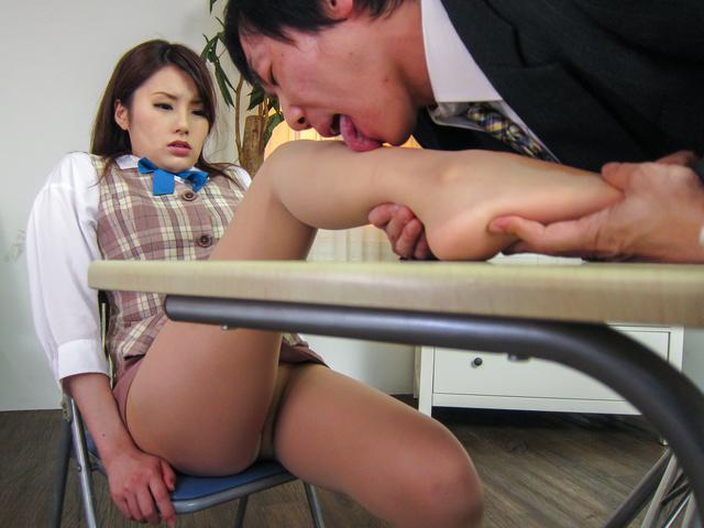 綾瀬ルナ - 女秘書イメクラプレイ~フェラ&中出し! - Picture 12