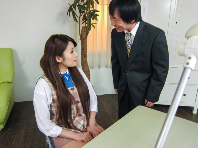 綾瀬ルナ - 女秘書イメクラプレイ~フェラ&中出し! - Picture 9