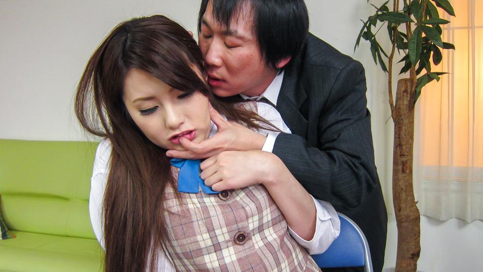 女秘書イメクラプレイ~フェラ&中出し!