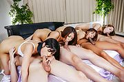 Maika - Rough Asianblowjob along steamy chicks inheats - Picture 10