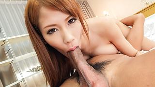 Nami Itoshinohaving Japanese blowjob on stiff cocks