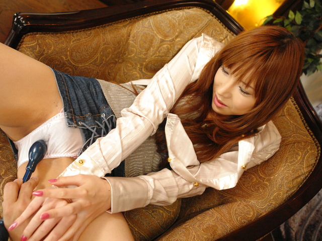 Serina Hayakawa - Sweet Japanese Teen Serina Hayakawa Toy and Pussy Play - Picture 6
